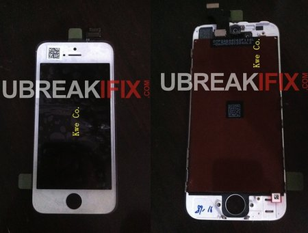 More iPhone 5 front panel photos emerge