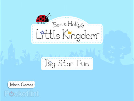 APP OF THE DAY: Ben & Holly's Little Kingdom - Big Star Fun review (iPad / iPhone / iPod touch) - photo 2