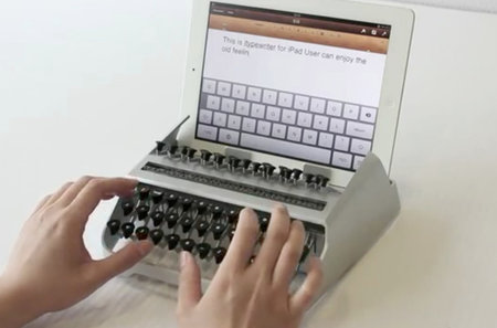 iTypewriter turns your iPad into a typewriter (video)