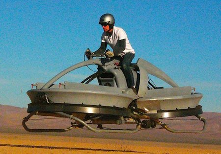 Star Wars Hover bike becomes reality, Stormtrooper uniform not included (video)