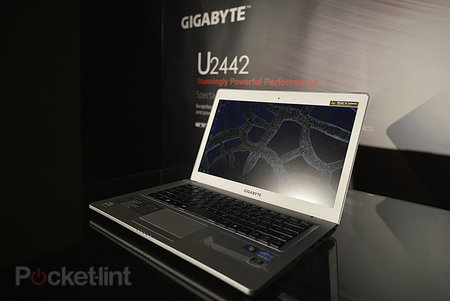 Gigabyte U2442 Ultrabook pictures and hands-on