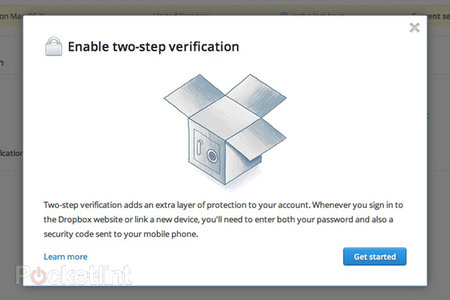 Dropbox two-step verification brings added security to your cloud files