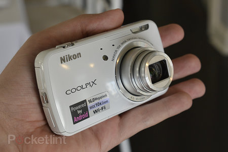 Nikon Coolpix S800C Android-based camera pictures and hands-on - photo 1