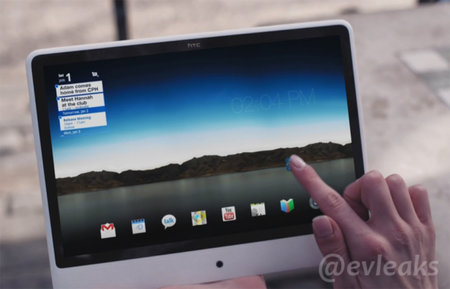 Mysterious HTC tablet leaked complete with iMac style design