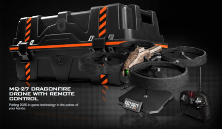 Call of Duty: Black Ops II care package edition comes with its own attack drone