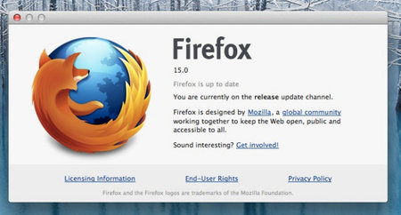 Firefox 15 arrives, has plans to be best gaming browser