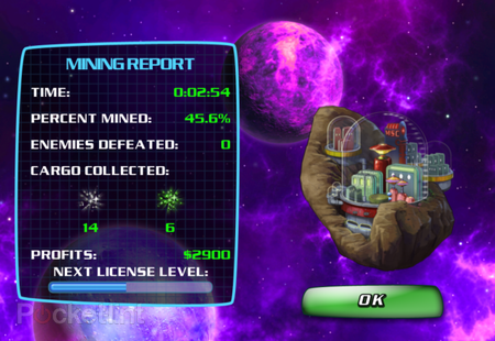APP OF THE DAY: Space Miner HD review (iPad and iPhone) - photo 1