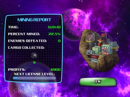 APP OF THE DAY: Space Miner HD review (iPad and iPhone) - photo 10