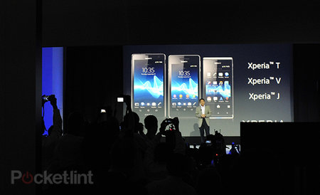 Sony Xperia T, V, and J debut at IFA, James Bond to use T in Skyfall