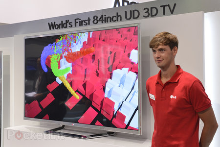 LG 84-inch 4K TV pictures and eyes-on