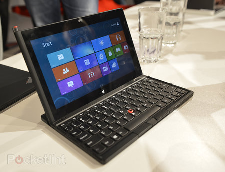 Lenovo ThinkPad Tablet 2 pictures and hands-on