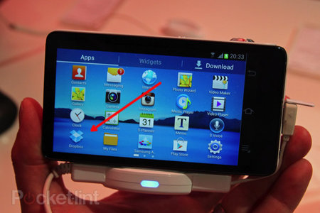 Samsung Galaxy Camera comes with 50GB Dropbox storage