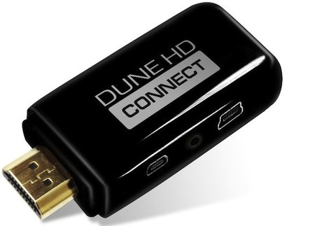 Dune HD Connect stick is world's smallest Full HD Media player