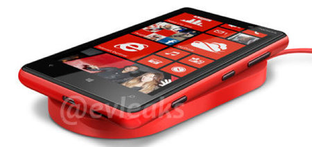 Nokia Lumia 920 specs and picture reveals wireless charging