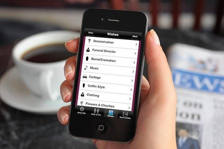 Planning your own funeral? There's an app for that, iFuneral