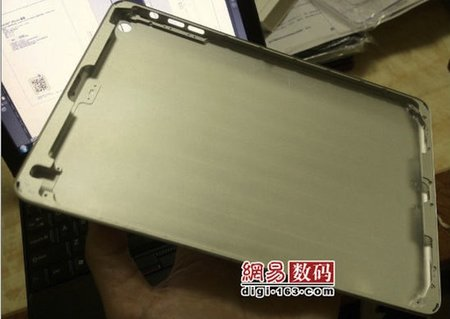 New iPad mini images shows back cover casing