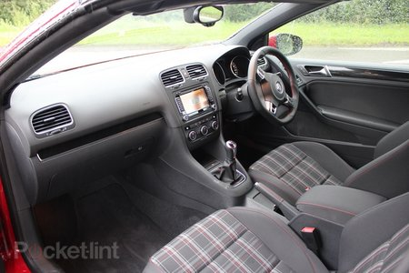 Volkswagen Golf GTi cabriolet first drive pictures and hands-on - photo 5