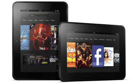 Amazon Kindle Fire HD and Kindle Fire UK release confirmed, coming October from £129