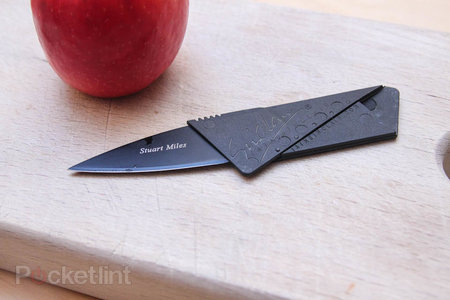 Cardsharp 2: The credit card folding safety knife