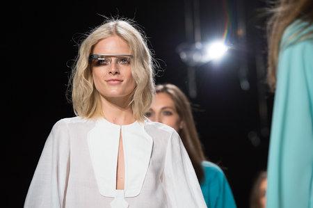Google Glass hits the catwalk as models strut their high tech stuff - photo 6