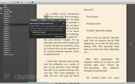 Amazon Kindle for Mac adds gesture support, we flick through some books