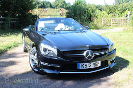 Mercedes-Benz SL63 AMG pictures and hands-on