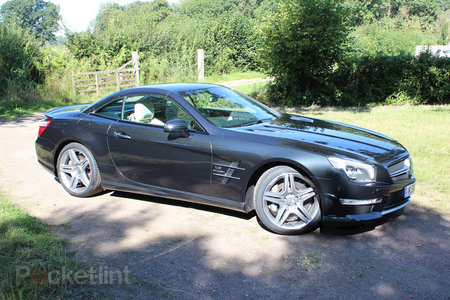 Mercedes-Benz SL63 AMG pictures and hands-on - photo 19