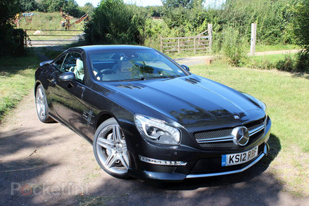 Mercedes-Benz SL63 AMG pictures and hands-on - photo 20