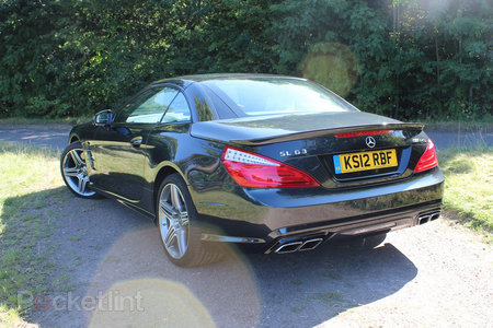 Mercedes-Benz SL63 AMG pictures and hands-on - photo 22