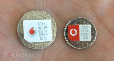 Vodafone nano SIMs stockpiled for iPhone 5 launch (picture)
