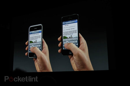 iPhone 5 officially launched at Apple press event, 16:9 4-inch screen and more - photo 4