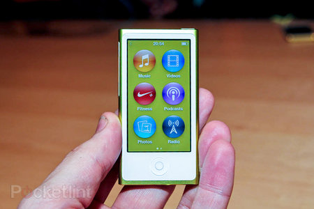 Apple iPod nano pictures and hands-on