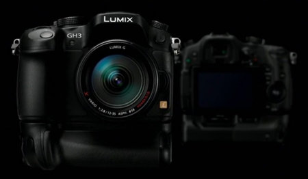 Panasonic Lumix GH3 shown ahead of schedule, by Panasonic
