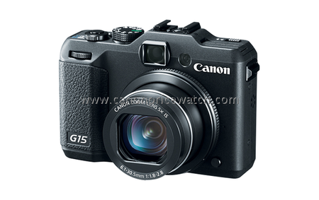 Canon PowerShot G15 leaks, high-end compact enthusiasts rejoice