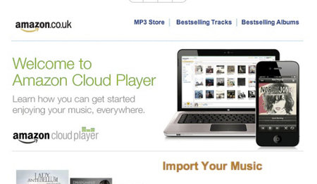 Amazon Cloud Player live in the UK