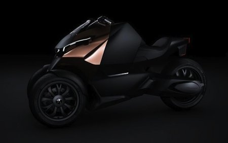 Peugeot Onyx three-wheel Scooter - more than just a concept
