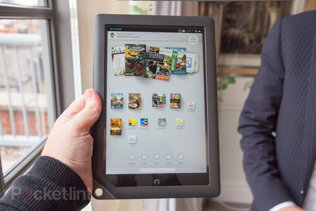 Barnes & Noble Nook HD+ 9-inch tablet pictures and hands-on