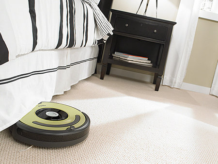 WIN: An iRobot Roomba 660 vacuum cleaning robot