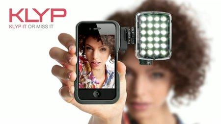 Klyp iPhone cover comes with tripod and flash for improved camera experience