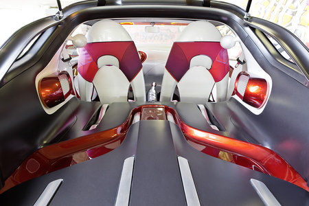 Smart Forstars concept car unveiled, the urban vehicle with built-in home cinema projector - photo 7