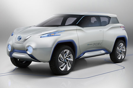 Nissan TeRRA concept car comes with removable tablet device for a dashboard - photo 1