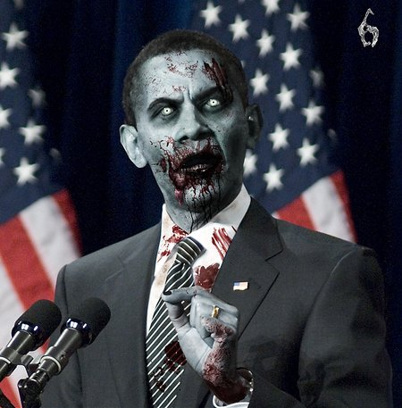 President Evil: US candidates made over Resident Evil 6 style - photo 2