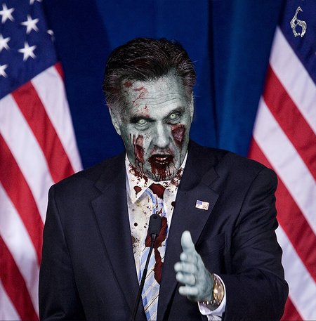 President Evil: US candidates made over Resident Evil 6 style - photo 3