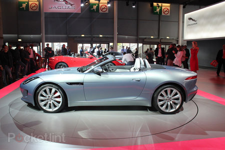 Jaguar F-type pictures and hands-on - photo 12