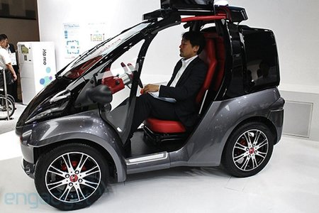 Toyota Smart Insect prototype car uses Kinect motion sensor, too bad it's not for sale