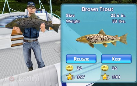 APP OF THE DAY: Fishing Kings Free+ review (iPad and iPhone) - photo 1