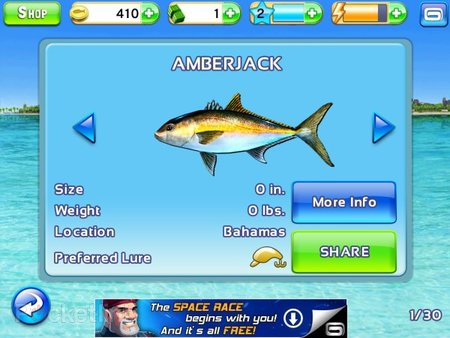 APP OF THE DAY: Fishing Kings Free+ review (iPad and iPhone) - photo 6