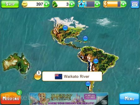 APP OF THE DAY: Fishing Kings Free+ review (iPad and iPhone) - photo 7
