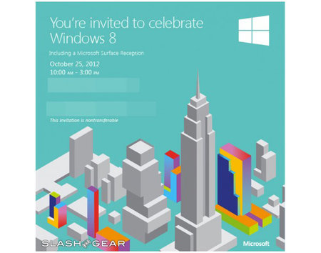 Microsoft schedules Window 8 launch event, Surface included