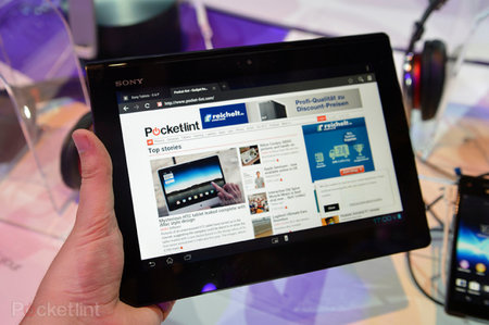 Sony Xperia Tablet S sales suspended, not as water resistant as claimed
